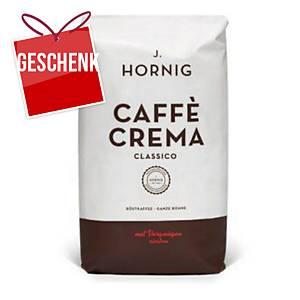 Hornig Crema Premium-Bohnenkaffee, 500 g