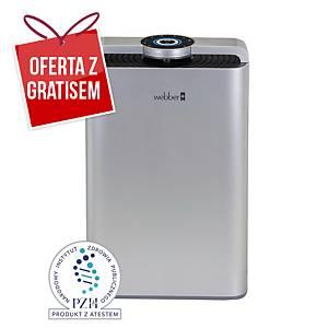 Oczyszczacz powietrza WEBBER Air Purifier AP9700 Wifi Silver