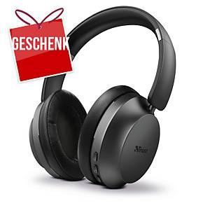 Trust Eaze drahtlose Kopfhörer, Bluetooth, schwarz