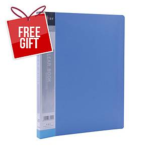 Usign Display Book 20 Pages A4 Blue