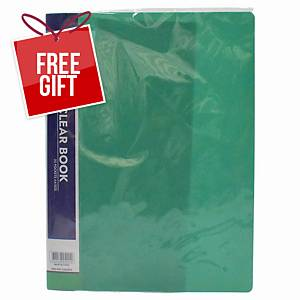 Usign Display Book 20 Pages A4 Green