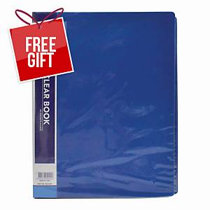Usign Display Book 40 Pages A4 Blue
