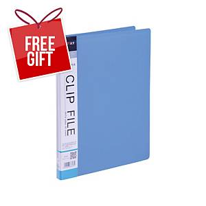 Usign 201A PP Clip File A4 Blue