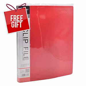 Usign 201A PP Clip File A4 - Red