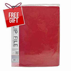 Usign 301A PP Clip File A4 - Red