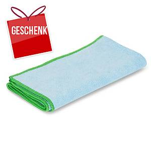 Mikrofasertuch Greenspeed Original, 40x40cm, Packung à 10 Stk., blau