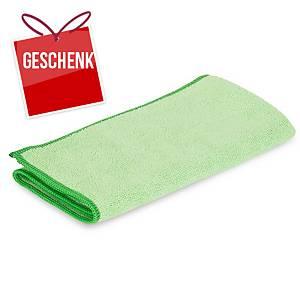 Mikrofasertuch Greenspeed Original, 40x40cm, Packung à 10 Stk., grün