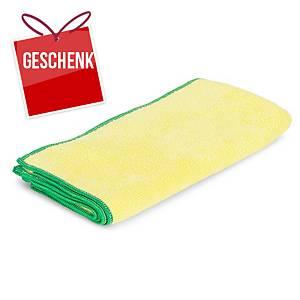 Mikrofasertuch Greenspeed Original, 40x40cm, Packung à 10 Stk., gelb