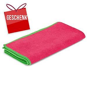 Mikrofasertuch Greenspeed Original, 40x40cm, Packung à 10 Stk., rot