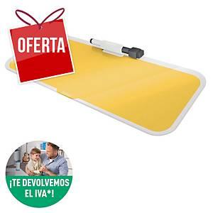 Bloco de notas de mesa Leitz Cosy de vidro amarelo