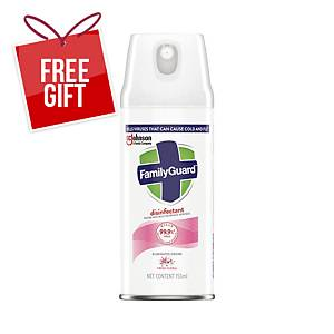 FamilyGuard Disinfectant Spray/Aerosol (Fresh Floral) - 155ml
