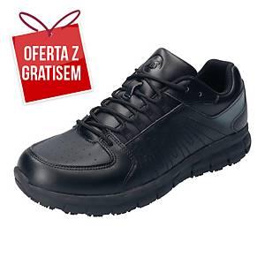 Półbuty BATA CHARGE OB SRC, czarne, rozmiar 34