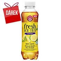 Ochucený nápoj Teekanne Fresh, ledový čaj - citron, 0,5 l, balení 6 kusů