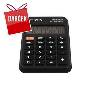 Vrecková kalkulačka Citizen LC-110NR, 8-miestny displej