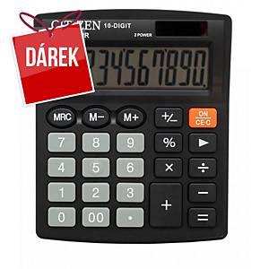 Stolní kalkulačka Citizen SDC810NR, 10-místný displej, černá
