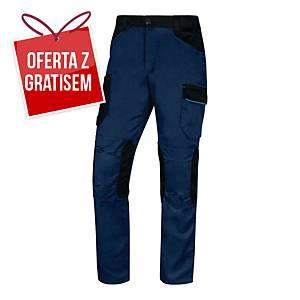Spodnie DELTA PLUS MACH2 V3, granatowo-niebieskie, rozmiar 2XL