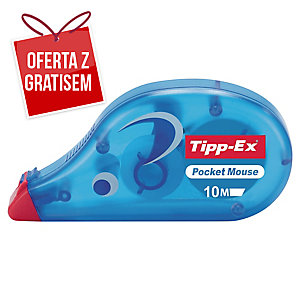 Korektor w taśmie TIPP-EX Pocket Mouse, 4,2 mm x 10 m