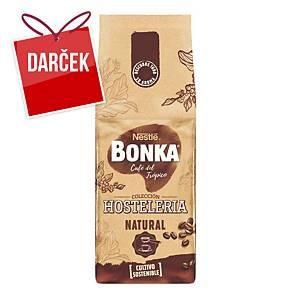 Prémiová zrnková káva Bonka Hosteleria Natural, 1 kg