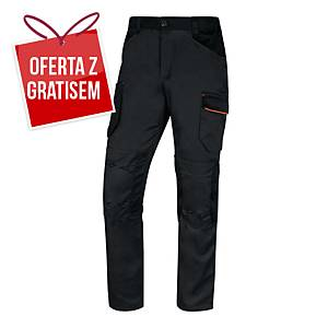 Spodnie DELTA PLUS MACH2 V3 STR, szaro-pomarańczowe, rozmiar  3XL