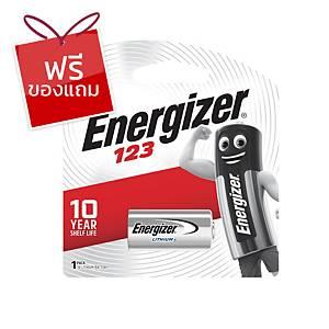 ENERGIZER ถ่านโฟโต้ลิเธียม 123 3โวลต์ 1 ก้อน
