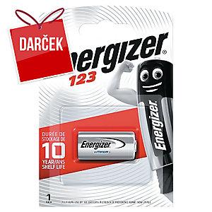 Batéria Energizer 123 lítiová 3 V, 1 kus v balení
