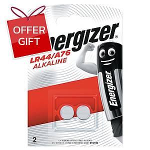 ENERGIZER Ultra Plus Lr44 Batteries - Pack Of 2