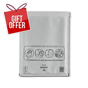 Mail Lite White Bubble Lined Postal Bags H/5 270 X 360mm - Box of 50