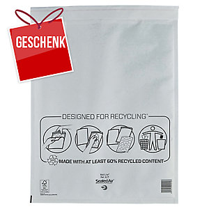 Luftpolster-Versandtaschen Sealed Air Mail Lite K/7,350x470mm,weiss,Pk. à 50 Stk