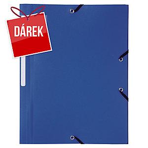 Obal na dokumenty se 3 klopami Lyreco - modrý