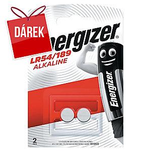 Baterie Energizer LR54, alkalické, 1,5V, 2 kusy v balení
