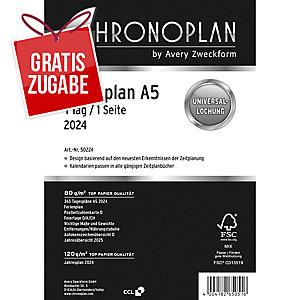 Tagesplan 2019 Chronoplan 50229, 1 Tag / 1 Seite, A5