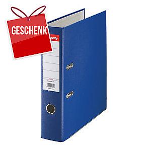 Esselte Economy Standardordner blau, Rückenbreite: 7,5 cm