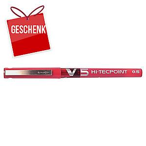 Pilot Hi-Tecpoint V5 Tintenroller 0,3 mm rot
