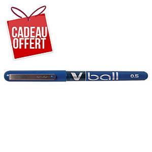 Roller Pilot V-Ball - encre liquide - pointe fine - bleu