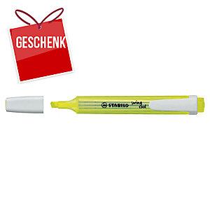 Leuchtmarker Stabilo Swing Cool 275/24, Keilspitze, Strichbreite 1-4 mm, gelb
