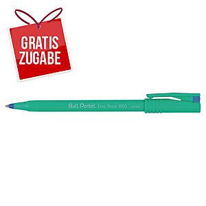Tintenroller Pentel Ball R50, Strichstärke: 0,4mm, blau