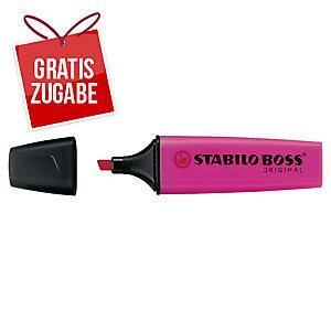 Textmarker Stabilo Boss Original 70/58, Strichstärke: 2-5mm, nachfüllbar, lila