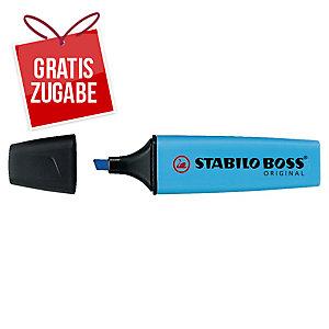 Textmarker Stabilo Boss Original 70/31, Strichstärke: 2-5mm, nachfüllbar, blau