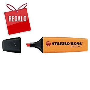 Marcador fluorescente color naranja STABILO BOSS