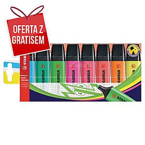 Zakreślacz STABILO BOSS ORIGINAL, etui 8 kolorów
