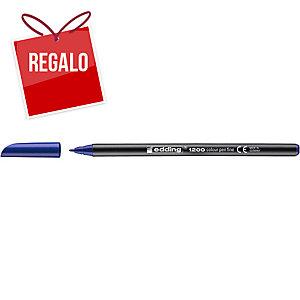Rotulador Edding 1200 - azul