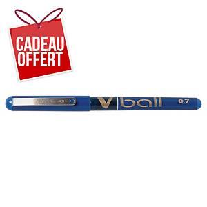 Roller Pilot V-ball - encre liquide - pointe moyenne - bleu
