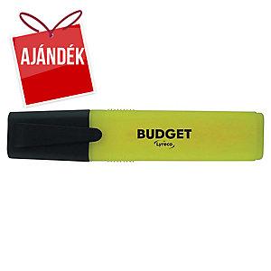Lyreco Budget szövegkiemelő, sárga