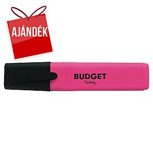 Lyreco Budget szövegkiemelő, rózsaszín