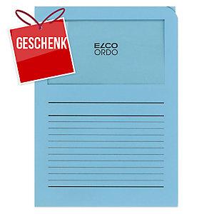 Organisationsmappe Elco Ordo Classico 29489, bedruckt, blau, Packung à 100 Stück