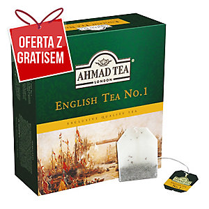 Herbata czarna AHMAD English Tea No1, 100 torebek