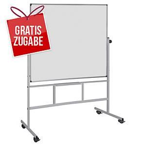 Weißwandtafel Bi-Office QR0404, Stativ-Drehtafel, Maße: 150 x 120cm