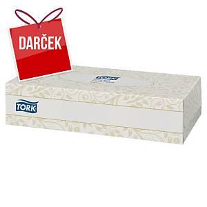 Hygienické vreckovky Tork Premium 140280, biele, 100 ks, 2 vrstvy
