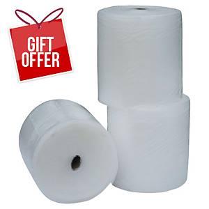 AirCap Bubble Wrap Roll 100Mx50cm - Pack of 3