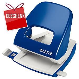 Locher Leitz 5008, Bürolocher, 30 Blatt, blau